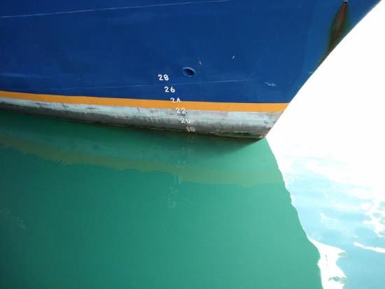 Linea di galleggiamento - Civitavecchia (5392 clic)