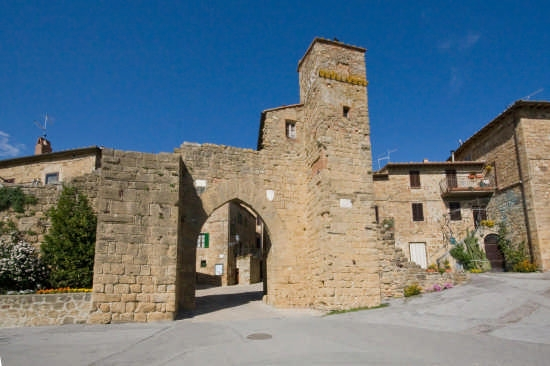 Porta Sant'Agata - Monticchiello (3385 clic)