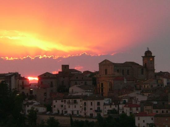 tramonto - Scerni (5595 clic)