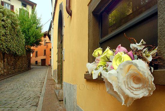 via centro storico Lovere, Bergamo (507 clic)