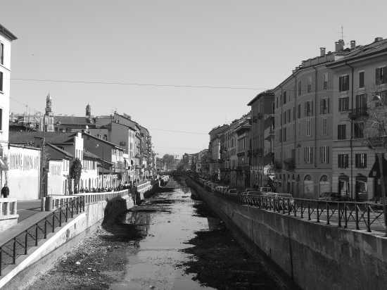 Scorcio Naviglio Grande Milano - CORSICO - inserita il 05-Jul-08