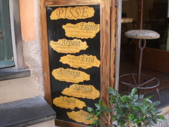 specialità pizze liguri - Portovenere (3580 clic)