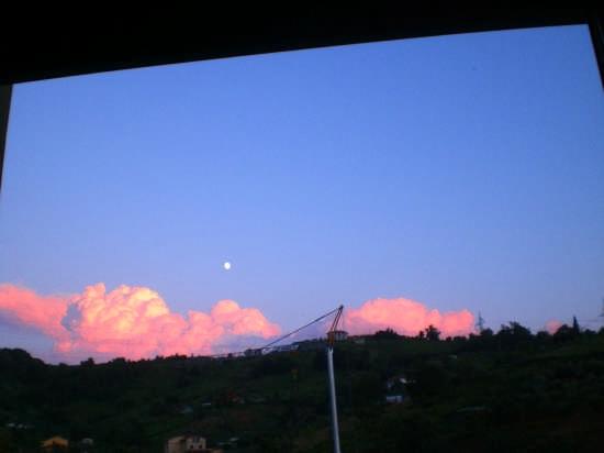 rosso di sera bel tempo si spera - Carrara (2219 clic)