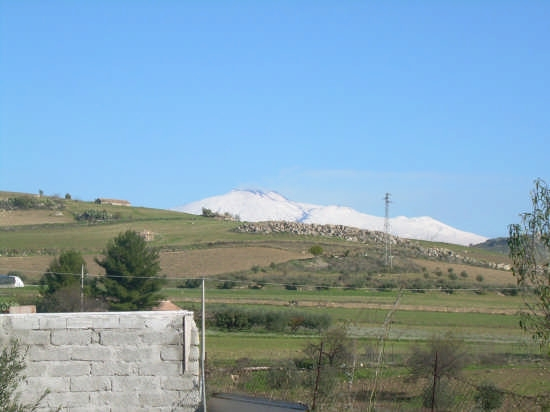 l'etna, a gennaio - Catenanuova (2819 clic)