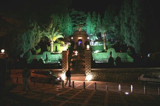 Calvario di notte - Bisacquino (3184 clic)