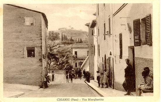 Vecchia cartolina di Chianni (3857 clic)