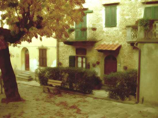 Piazza Bartoli - Chianni (1951 clic)