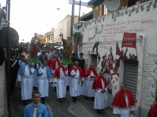 Processione di San Pietro e Paolo 29.06.08 - Orgosolo (4288 clic)