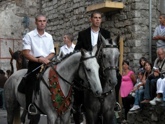Cavalieri Festa dell'Assunta - Orgosolo (6415 clic)