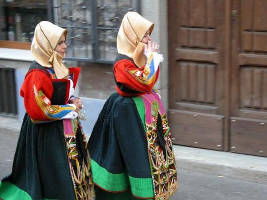 Costume Orgosolo   Festa dell'Assunta (4495 clic)