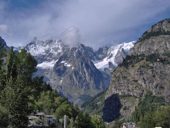 Monte Bianco - Courmayeur (3550 clic)