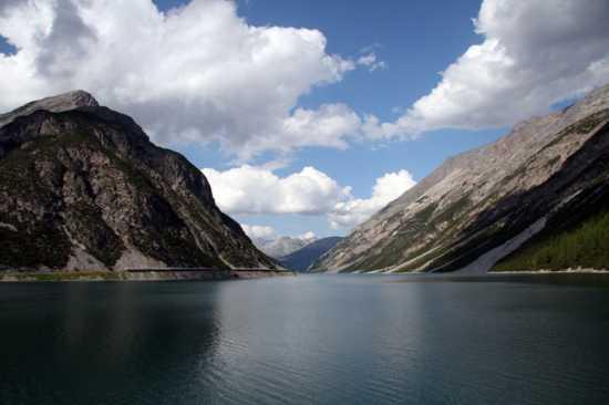 Il lago - Livigno (4010 clic)