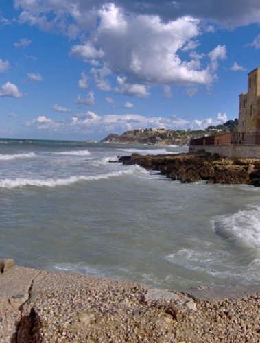 Mare mosso - Palermo (3648 clic)