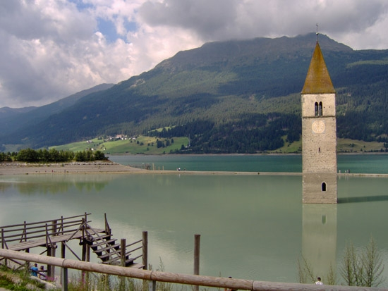 Lago di Resia (3716 clic)