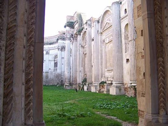 Rovine chiesa di S. Francesco - Fano (4696 clic)