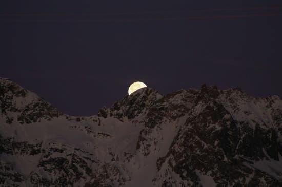 La montagna ore 08,00  - Bardonecchia (2856 clic)