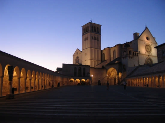 tramonto - Assisi (6438 clic)