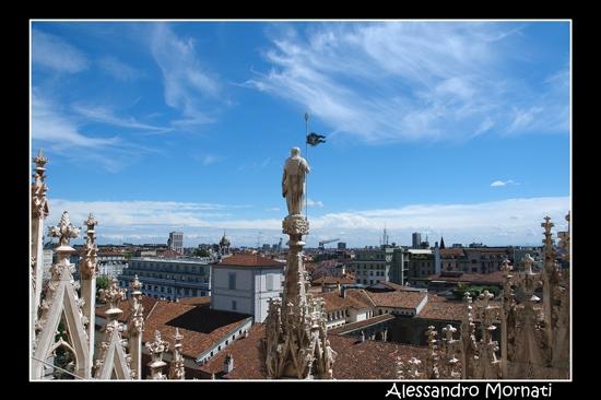 Milano dal Duomo (2958 clic)