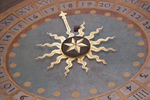 quadrante astronomico meccanico - Brescia (2502 clic)