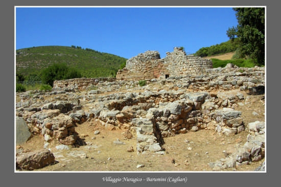 Villaggio Nuragico - Barumini (3010 clic)
