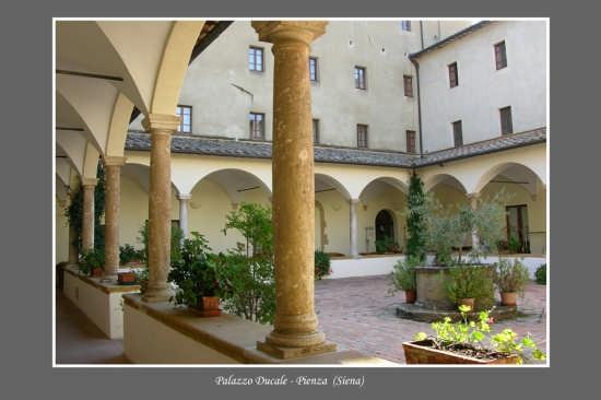 Palazzo Ducale - Pienza (3981 clic)
