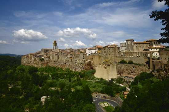 Cartolina di Pitigliano (3168 clic)