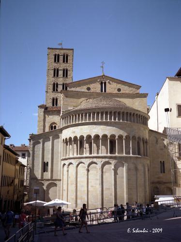 La Pieve di S. Maria. - Arezzo (2412 clic)