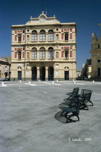 Il Palazzo Comunale - Grammichele (3572 clic)