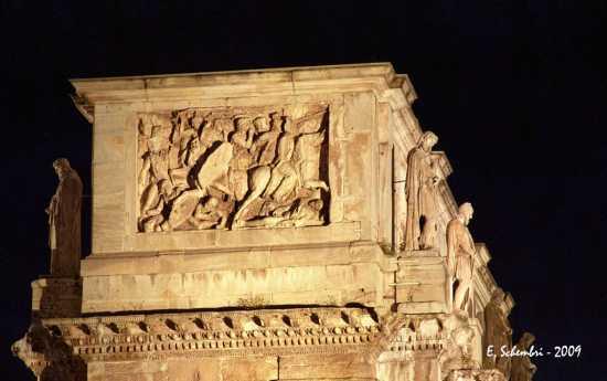 Arco di Costantino in notturna - Roma (1728 clic)