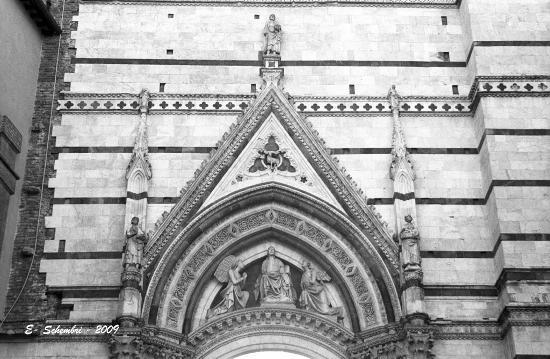 Particolare della Cattedrale - Siena (1898 clic)