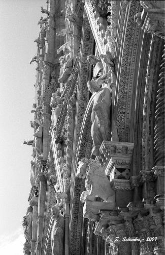Particolare della Cattedrale - Siena (1459 clic)