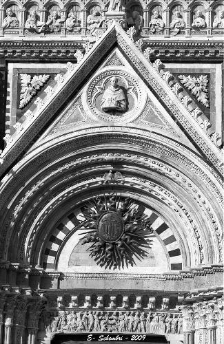 Particolare della Cattedrale - Siena (1668 clic)