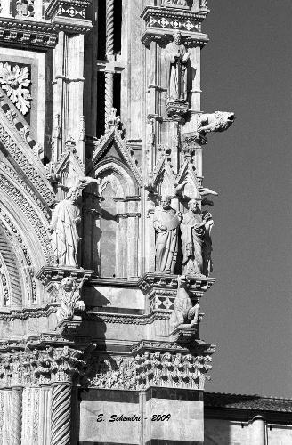 Particolare della Cattedrale - Siena (1535 clic)