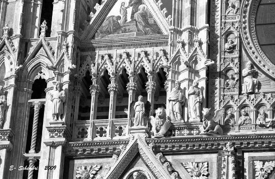 Particolare della Cattedrale - Siena (1525 clic)