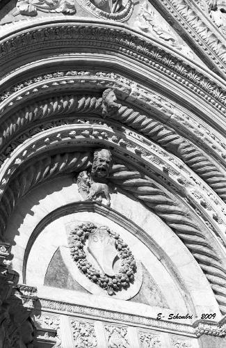 Particolare della Cattedrale - Siena (1556 clic)