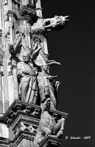 Particolare della Cattedrale - Siena (2130 clic)