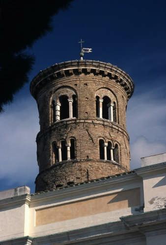 Il campanile della cattedrale (sec. X) - Ravenna (2719 clic)