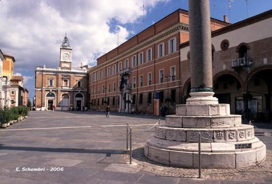Piazza del Popolo - Ravenna (7555 clic)
