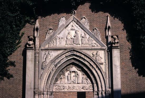 Portale della chiesa di San Giovanni Evangelista. - Ravenna (3792 clic)