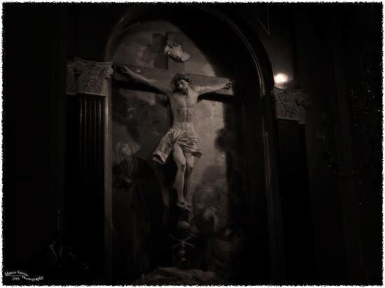 Arte sacra in chiaroscuro - Cagliari (2732 clic)