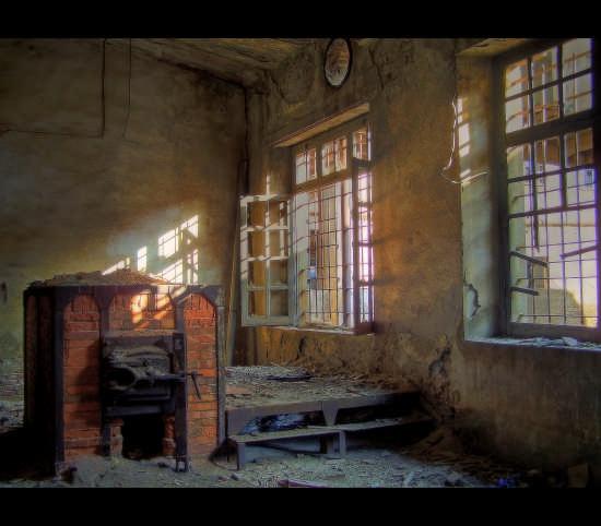 Iglesias,Miniere di Monteponi:particolare di un forno (4331 clic)