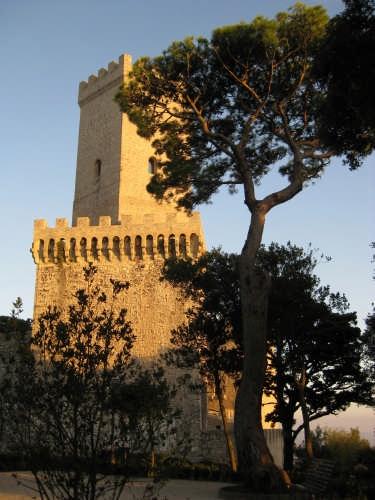 Erice,castello Normanno (3753 clic)