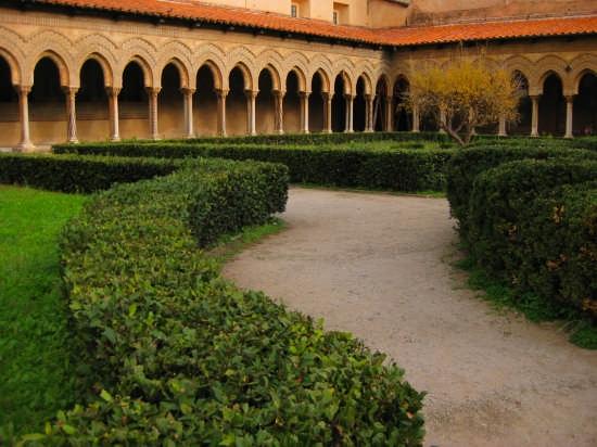 Monreale,il Chiostro(XII sec) (2869 clic)