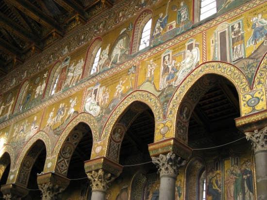 Monreale,il Duomo(XII sec) (3660 clic)