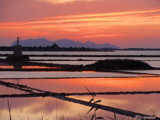 Il tramonto allo Stagnone - Mozia (6607 clic)