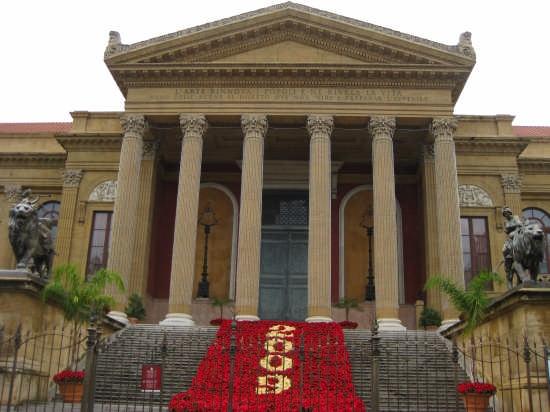 Palermo,Teatro Massimo (3506 clic)