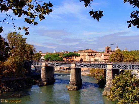 Roma,Ponte Palatino (4195 clic)