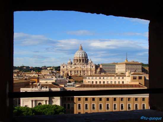 La finestra sul Vaticano - Roma (2625 clic)