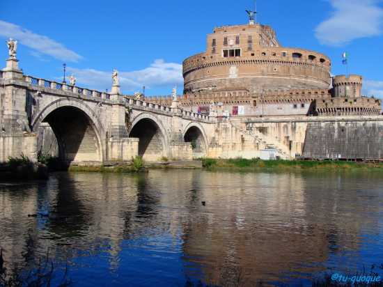 Roma-Castel Sant'Angelo - ROMA - inserita il 18-Nov-09