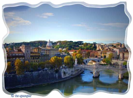 Roma-vista dal Castel Sant'Angelo (2783 clic)